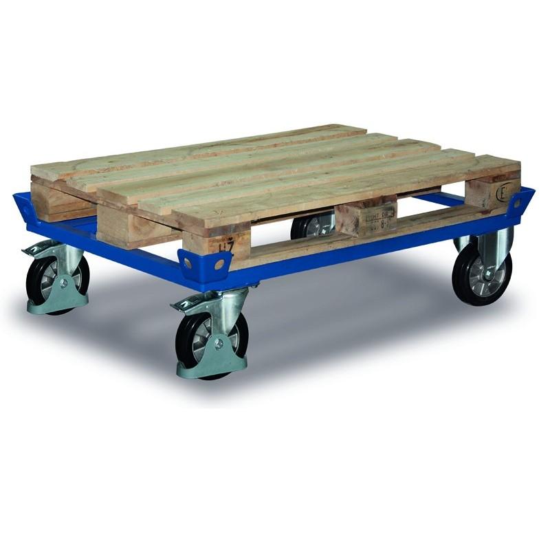 Chariot pour caisses palettes, charge 1200 kg