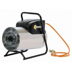 Chauffage air pulsé mobile au gaz propane SOVELOR GP Inox