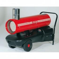 Chauffage air pulsé mobile au fuel SOVELOR EC