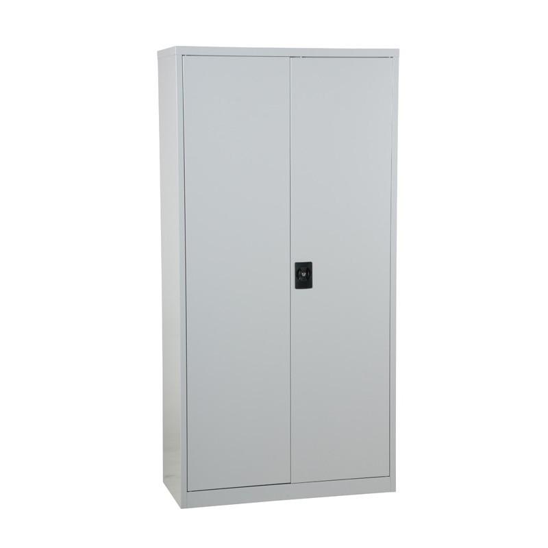 Armoire de rangement économique 2 portes démontable gris