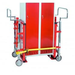 Diable élévateur hydraulique, charge 1800 kg