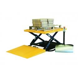 Table élévatrice électrique avec rampe, charge 1000 Kg