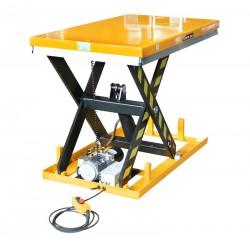 Table élévatrice électrique, charge 1000 à 2000 Kg