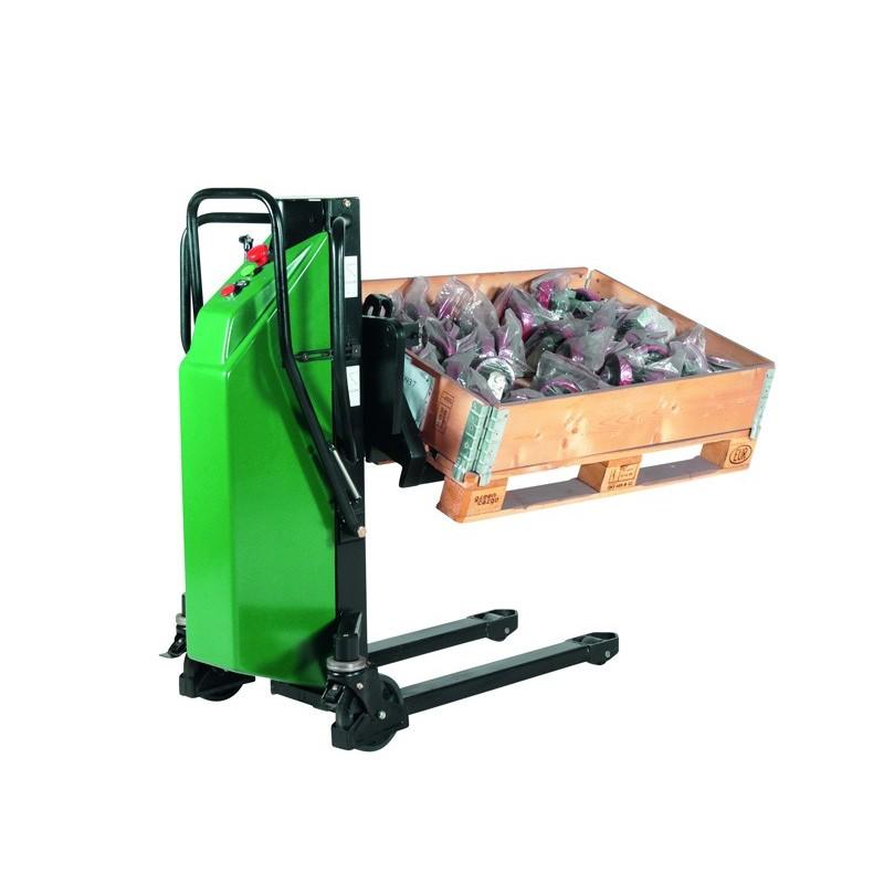 Gerbeur électrique pivotant, charge 800 kg