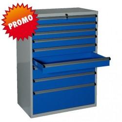 Armoire d'atelier 9 tiroirs Eco