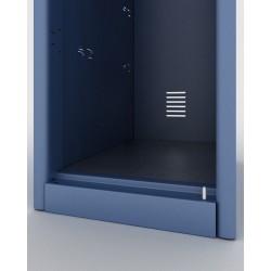 Armoire vestiaire en kit 2 portes