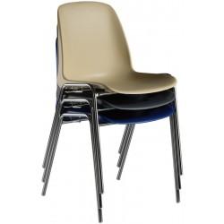 Chaise coque polypropylène