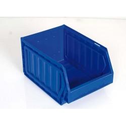 Bac pliant bleu, capacité de 3.2 à 4.8 l, lot de 5