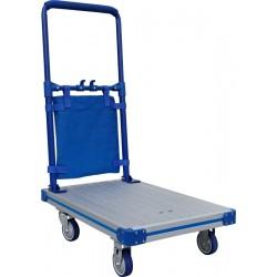 Chariot à dossier rabattable, charge 100 à 150 kg