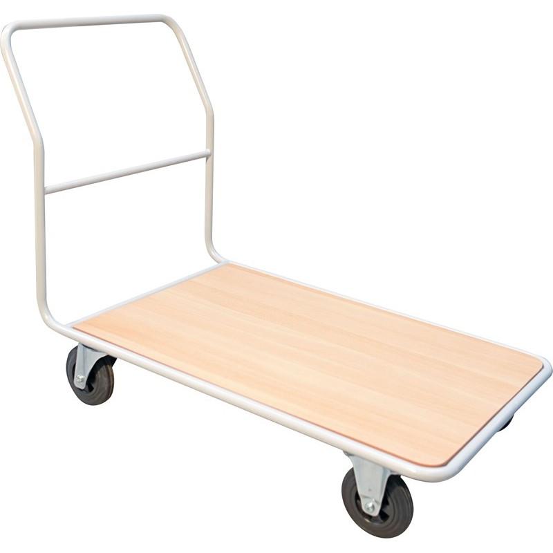 Chariot à dossier fixe, charge 200 à 500 kg