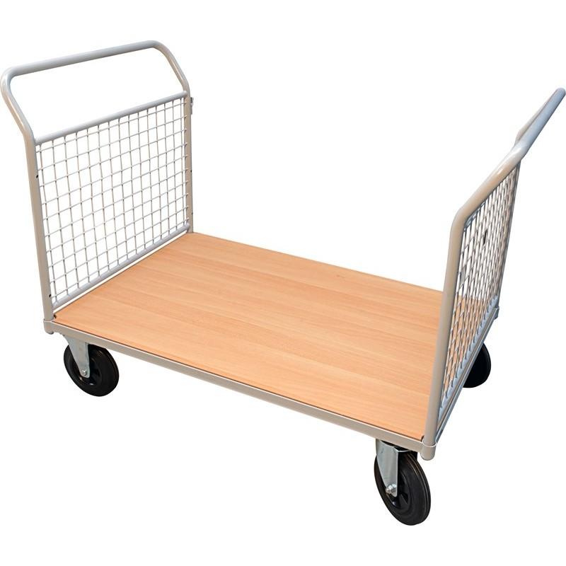 Chariot à ridelles 2 panneaux, charge 500 kg