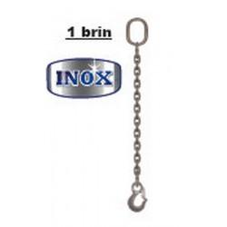 Mètre supplémentaire pour élingue inox à chaîne 1 brin