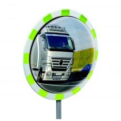 Miroir panoramique à rélfecteur vert