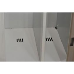 Armoire vestiaire monobloc, industrie salissante, 1 case