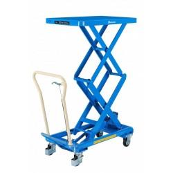 TABLE ELEVATRICE DOUBLE CISEAUX HYDRAULIQUE 150 à 500 kg