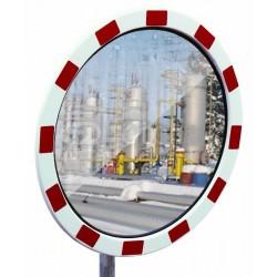 Miroir de surveillance anti-buée/givre rond