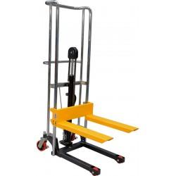 Gerbeur manuel, capacité de 400 kg, fourches fixes