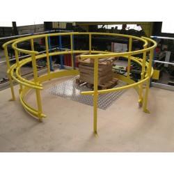 SAS de sécurité à ouverture rotative