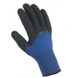 Lot de 12 paires de gants bleu nitrile noir Geste Pro