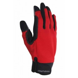 Lot de 12 paires de gants Geste pro Outillage rouge