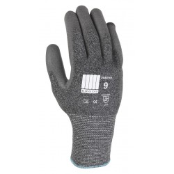 Lot de 12 paires de gants gris anticoupures HPPE