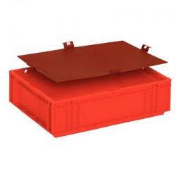 Bacs plastiques norme EURO modulaires GALIA Allibert, capacité 9 litres