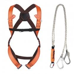 Kit anti-chute, harnais 2 points avec absorbeur d'énergie