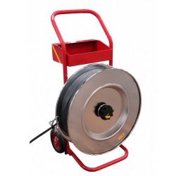 Dévidoir mobile pour feuillard polyester ou acier