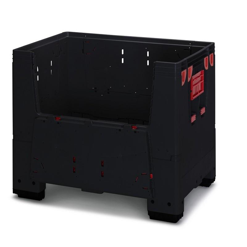 Caisse palette ESD, 700 litres, 4 pieds