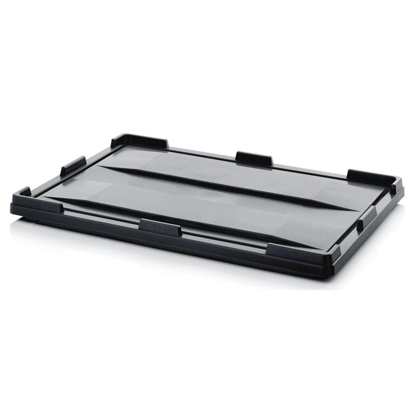 Couvercle pour caisse-palettes pliable ESD