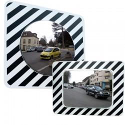Miroir routier en inox