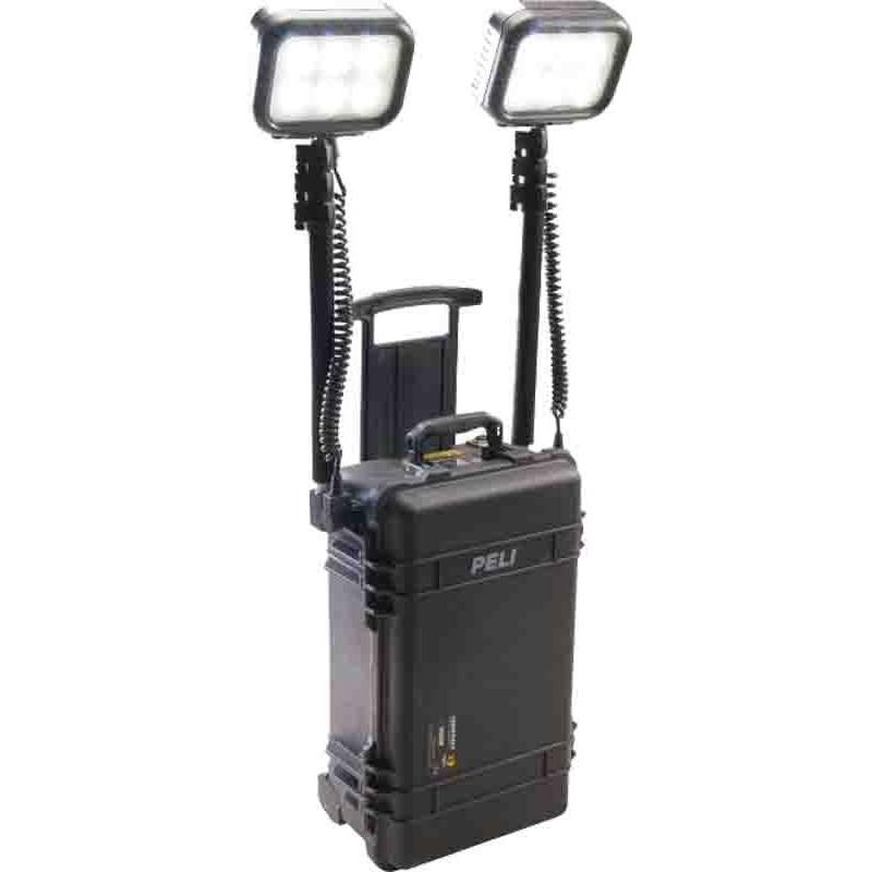 Projecteur RALS PELI tout terrain, autonomie 40h, noir