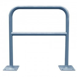 Barrière de sécurité, Ø 40 mm, galvanisé