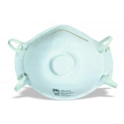 Lot de 12 masques soupapes anti-poussières jetables jusqu'à 4.5 x VME