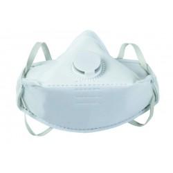 Lot de 12 masques pliables avec soupape anti-poussières jetables jusqu'à 4.5xVME