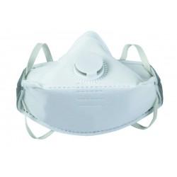 Lot de 12 masques pliables avec soupape anti-poussières jetables jusqu'à 50xVME