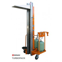 Colonne mobile de rétractation à gaz RIPACK TURBOPACK