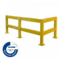 Barrière de protection modulable, utilisation intérieure