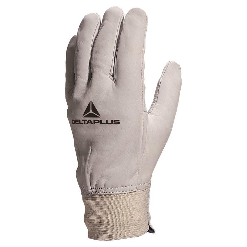 Lot de 12 paires de gants fleur de bovin Delta Plus