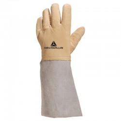 Lot de 6 paires de gants cuir cryogénique traité hydrofuge Delta Plus