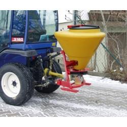 Epandeur à sel 130 litres pour tracteur CEMO