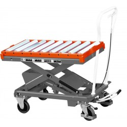 Plateau à rouleaux pour tables élévatrices