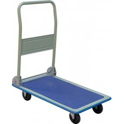 Chariot à dossier rabattable 150 kg