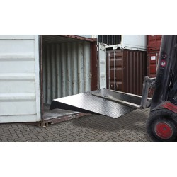 Rampe charge 7500 kg