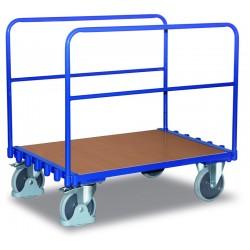 Supports tubulaires pour chariot porte-panneaux