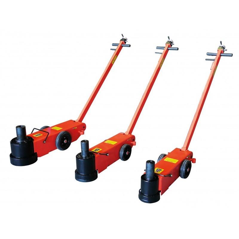 Crics roulants hydropneumatique
