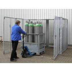 Box pour bouteilles à gaz GFC-M-DF