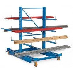 Cantilever mobile double face