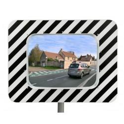 Miroir routier économique 40x60 cm