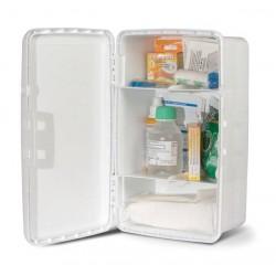 Armoire à pharmacie avec kit de secours 2 personnes